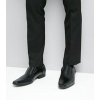 Black Chisel Toe Formal Shoes New Look