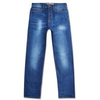 Blue Straight Leg Jeans New Look