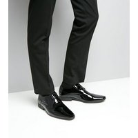 Black Patent Gibson Shoes New Look