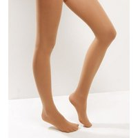 Mid Brown 20 Denier Shaping Tights New Look