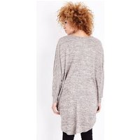 Camel Brushed Batwing Sleeve Top New Look