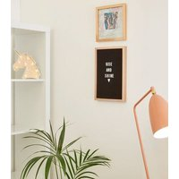 Rose Gold Adventure Slogan Frame New Look