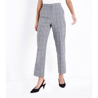 Parisian Grey Check Suit Trousers New Look