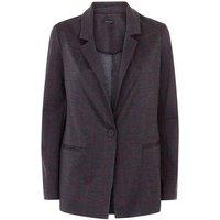 Grey Check Lightweight Blazer New Look
