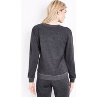 Tall Dark Grey Believe In Yourself Unicorn Sweatshirt New Look