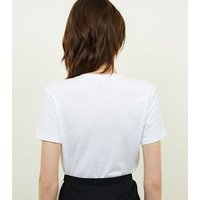 White Short Sleeve T-Shirt New Look