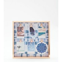 Blue Tie Dye Peg Board New Look