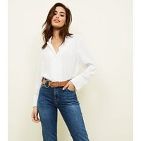Camel Double Ring Jeans Belt New Look