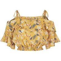 Pink-Vanilla-Yellow-Floral-Frill-Crop-Top-New-Look