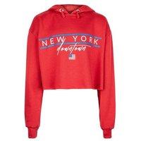 Girls Red New York Slogan Hoodie New Look