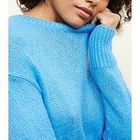 blue-curved-hem-jumper-new-look