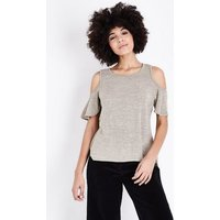 apricot-stone-cold-shoulder-top-new-look