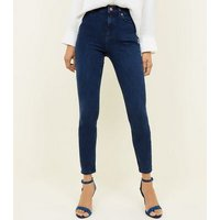 Navy Premium High Rise 'Lift & Shape' Jeans New Look