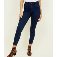 Blue Rinse Wash Super Soft Super Skinny India Jeans New Look