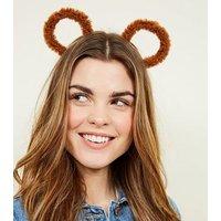 Brown Teddy Bear Ears New Look