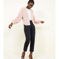 pale-pink-fine-knit-fluffy-cardigan-new-look
