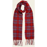 Red Check Scarf New Look