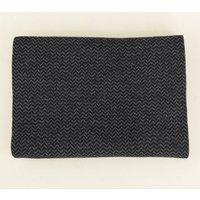 Men's Grey Herringbone Knit Scarf New Look