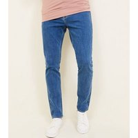 Bright Blue Slim Fit Jeans New Look