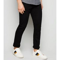 Black Stretch Slim Fit Jeans New Look