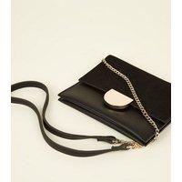 Black Mini Cross Body Bag New Look