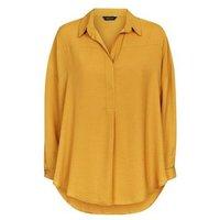 Mustard Yellow D-Ring Sleeve Overhead Shirt New Look
