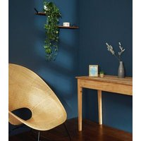 Black Woven Pot and Artificial Plant New Look