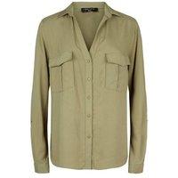 tall-khaki-lightweight-utility-shirt-new-look