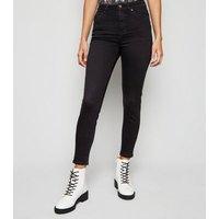 Black 'Lift & Shape' Skinny Jeans New Look