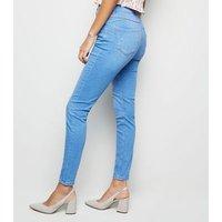 Bright Blue 'Lift & Shape' Skinny Jeans New Look