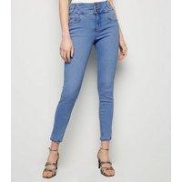 Pale Blue High Waist Skinny Yazmin Jeans New Look