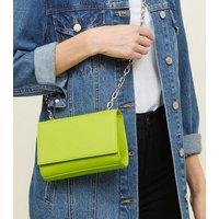 Yellow Neon Cross Body Bag New Look