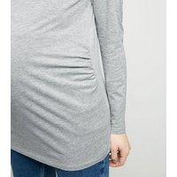 maternity-pale-grey-long-sleeve-top-new-look