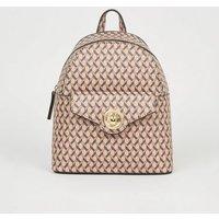 Brown Monogram Mini Backpack New Look