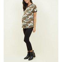 maternity-green-camo-tshirt-new-look