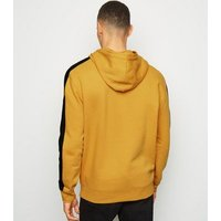 Yellow San Francisco Embroidered Hoodie New Look