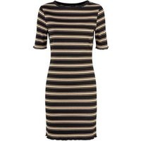 Black-Stripe-Bodycon-Mini-Dress-New-Look