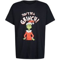 Black Don't Be A Grinch Christmas T-Shirt New Look