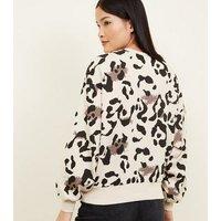 Brown Leopard Print Sweatshirt New Look