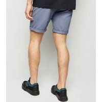 Blue Chino Shorts New Look