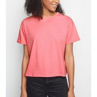 pink-neon-cropped-cotton-tshirt-new-look