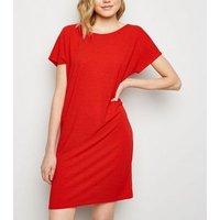 JDY Red T-Shirt Dress New Look