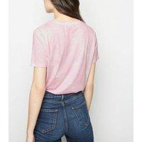 Pink Tie Dye T-Shirt New Look