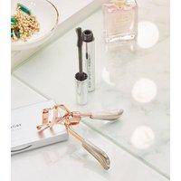 Grey Marble Effect Handle Eyelash Curlers New Look