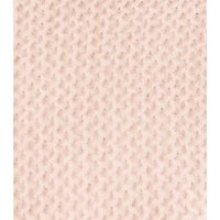 Pale Pink Waffle Knit Funnel Neck Jumper New Look