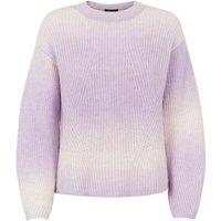 Petite Lilac Tie Dye Jumper New Look