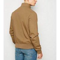 Camel Harrington Jacket New Look