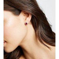 Pink Cubic Zirconia Stud Earrings New Look