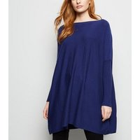 apricot-blue-soft-touch-oversized-jumper-new-look
