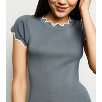 apricot-grey-zigzag-trim-knitted-top-new-look
